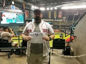 Keith attended Arizona Diamondbacks vs. Los Angeles Angels - MLB on Aug 22nd 2018 via VetTix