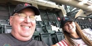 Chris attended Arizona Diamondbacks vs. Los Angeles Angels - MLB on Aug 22nd 2018 via VetTix