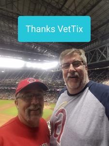 Steven attended Arizona Diamondbacks vs. Los Angeles Angels - MLB on Aug 22nd 2018 via VetTix