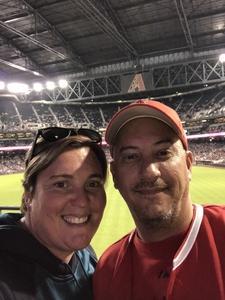 Nelson attended Arizona Diamondbacks vs. Los Angeles Angels - MLB on Aug 22nd 2018 via VetTix