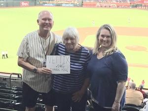 Ron S. Mesa, AZ attended Arizona Diamondbacks vs. Los Angeles Angels - MLB on Aug 22nd 2018 via VetTix