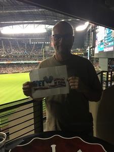 Kevin attended Arizona Diamondbacks vs. Seattle Mariners - MLB on Aug 24th 2018 via VetTix