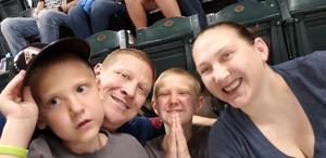 Calley attended Arizona Diamondbacks vs. Seattle Mariners - MLB on Aug 24th 2018 via VetTix