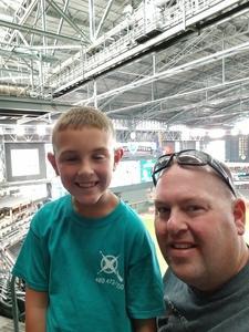 Josiah attended Arizona Diamondbacks vs. San Diego Padres - MLB on Sep 3rd 2018 via VetTix