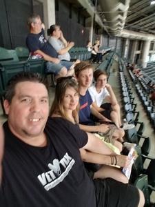 Tom attended Arizona Diamondbacks vs. San Diego Padres - MLB on Sep 3rd 2018 via VetTix