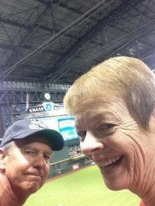 Michael attended Arizona Diamondbacks vs. San Diego Padres - MLB on Sep 3rd 2018 via VetTix
