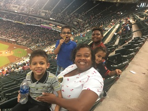 Trichelle attended Arizona Diamondbacks vs. Colorado Rockies - MLB on Sep 23rd 2018 via VetTix