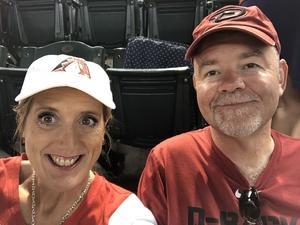Michael attended Arizona Diamondbacks vs. Colorado Rockies - MLB on Sep 23rd 2018 via VetTix