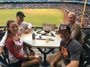 Gary attended Arizona Diamondbacks vs. Colorado Rockies - MLB on Sep 23rd 2018 via VetTix