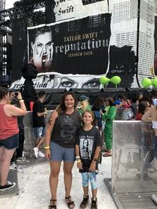 Julia attended Taylor Swift Reputation Stadium Tour - Pop on Jul 26th 2018 via VetTix
