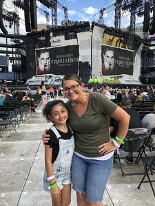 Jeremey attended Taylor Swift Reputation Stadium Tour - Pop on Jul 26th 2018 via VetTix