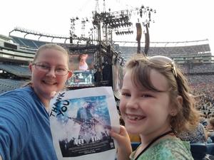 Mary attended Taylor Swift Reputation Stadium Tour on Jul 27th 2018 via VetTix