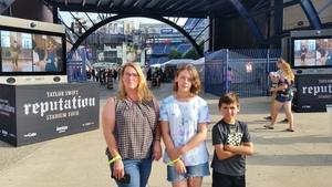 Chuck attended Taylor Swift Reputation Stadium Tour on Jul 27th 2018 via VetTix
