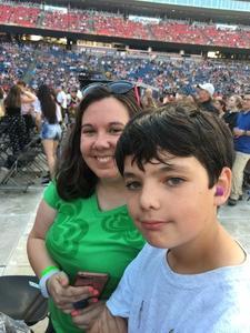 SHAUNE attended Taylor Swift Reputation Stadium Tour on Jul 27th 2018 via VetTix