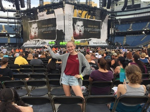 Adam attended Taylor Swift Reputation Stadium Tour on Jul 27th 2018 via VetTix
