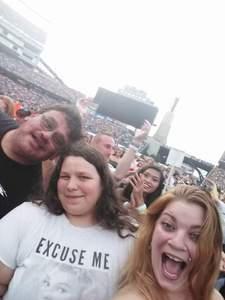 Antonio attended Taylor Swift Reputation Stadium Tour on Jul 27th 2018 via VetTix