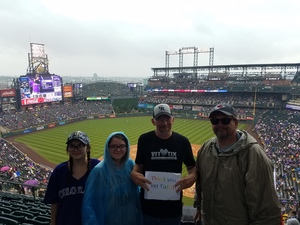 Click To Read More Feedback from Colorado Rockies vs. Seattle Mariners - MLB - Military Appreciation