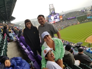 Angelo attended Colorado Rockies vs. Seattle Mariners - MLB - Military Appreciation on Jul 15th 2018 via VetTix