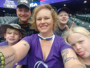 Audrey attended Colorado Rockies vs. Seattle Mariners - MLB - Military Appreciation on Jul 15th 2018 via VetTix