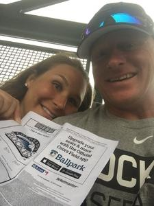 Aaron attended Colorado Rockies vs. Seattle Mariners - MLB - Military Appreciation on Jul 15th 2018 via VetTix