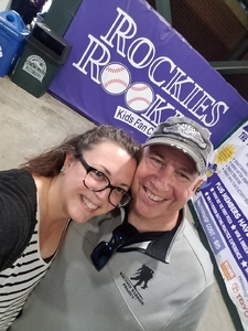 TERRILL attended Colorado Rockies vs. Seattle Mariners - MLB - Military Appreciation on Jul 15th 2018 via VetTix