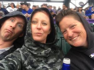 Kathleen attended Colorado Rockies vs. Seattle Mariners - MLB - Military Appreciation on Jul 15th 2018 via VetTix