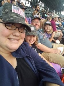 Archie attended Colorado Rockies vs. Seattle Mariners - MLB - Military Appreciation on Jul 15th 2018 via VetTix