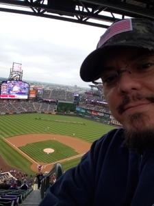 David attended Colorado Rockies vs. Seattle Mariners - MLB - Military Appreciation on Jul 15th 2018 via VetTix