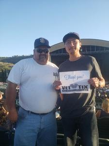 Chanthorn attended Stars Align Tour: Jeff Beck & Paul Rodgers and Ann Wilson of Heart on Jul 22nd 2018 via VetTix