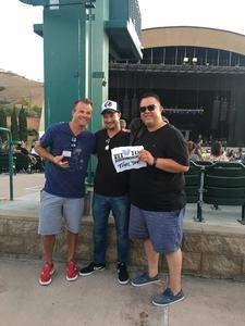 Walter attended Stars Align Tour: Jeff Beck & Paul Rodgers and Ann Wilson of Heart on Jul 22nd 2018 via VetTix