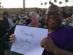 Janet attended Stars Align Tour: Jeff Beck & Paul Rodgers and Ann Wilson of Heart on Jul 22nd 2018 via VetTix