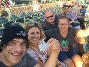 Allen attended Stars Align Tour: Jeff Beck & Paul Rodgers and Ann Wilson of Heart on Jul 22nd 2018 via VetTix