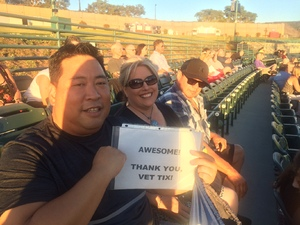 Christopher attended Stars Align Tour: Jeff Beck & Paul Rodgers and Ann Wilson of Heart on Jul 22nd 2018 via VetTix