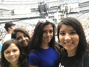 Ruben attended Taylor Swift Reputation Stadium Tour on Jul 22nd 2018 via VetTix