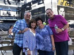 Ira attended Taylor Swift Reputation Stadium Tour on Jul 20th 2018 via VetTix