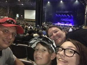 Robert attended Foreigner - Juke Box Heroes Tour With Special Guest Whitesnake and Jason Bonham's LED Zeppelin Evening on Jun 29th 2018 via VetTix