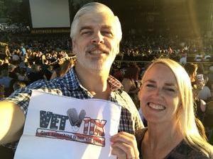 Sean & Millie attended Foreigner - Juke Box Heroes Tour With Special Guest Whitesnake and Jason Bonham's LED Zeppelin Evening on Jun 29th 2018 via VetTix