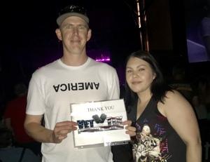 Reese attended Foreigner - Juke Box Heroes Tour With Special Guest Whitesnake and Jason Bonham's LED Zeppelin Evening on Jun 29th 2018 via VetTix