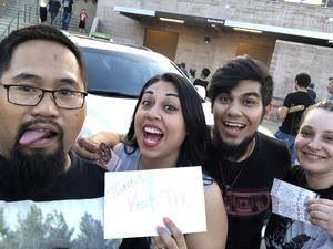 Jerry attended Thirty Seconds to Mars on Jul 6th 2018 via VetTix