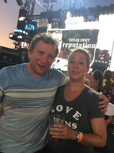 Jarrett attended Taylor Swift Reputation Stadium Tour on Jul 13th 2018 via VetTix