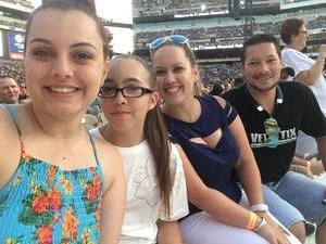 Shannon attended Taylor Swift Reputation Stadium Tour on Jul 13th 2018 via VetTix