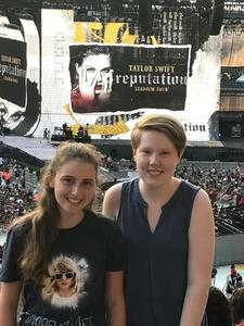 NavyGray5 attended Taylor Swift Reputation Stadium Tour on Jul 13th 2018 via VetTix