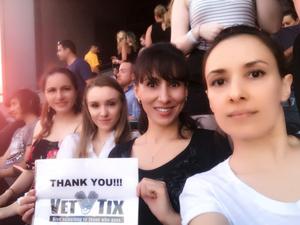 Andrey attended Taylor Swift Reputation Stadium Tour on Jul 13th 2018 via VetTix