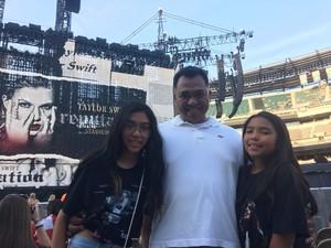 Angel attended Taylor Swift Reputation Stadium Tour on Jul 13th 2018 via VetTix