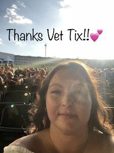 Jessyca attended Chicago / Reo Speedwagon on Jun 29th 2018 via VetTix