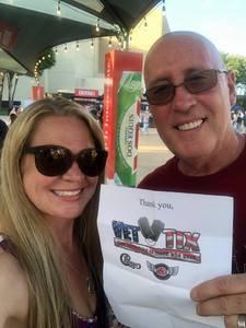 robert attended Chicago / Reo Speedwagon on Jun 29th 2018 via VetTix