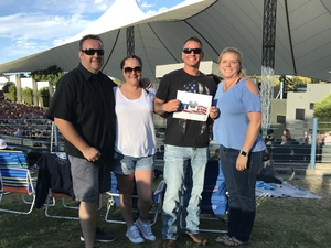 Kevin attended Counting Crows With Special Guest +live+: 25 Years and Counting - Lawn Seats on Jul 6th 2018 via VetTix