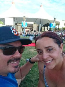 Renee attended Counting Crows With Special Guest +live+: 25 Years and Counting - Lawn Seats on Jul 6th 2018 via VetTix