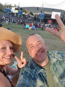 Ernie attended Counting Crows With Special Guest +live+: 25 Years and Counting - Lawn Seats on Jul 6th 2018 via VetTix