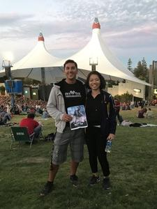 Steven attended Counting Crows With Special Guest +live+: 25 Years and Counting - Lawn Seats on Jul 6th 2018 via VetTix